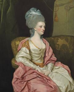 Sir Joshua Reynolds, P.R.A., Portrait of Mrs. Thomas Edwards Freeman