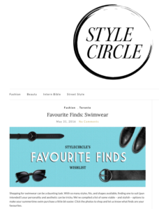 stylecircle site