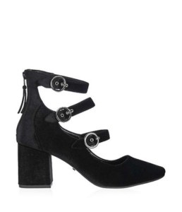 Topshop - Jojo Multi Buckle Shoes ($95)