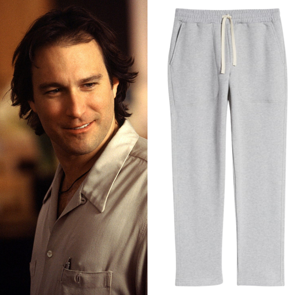 To the left: Aidan; to the right: Norse Projects' classic men's sweatpants